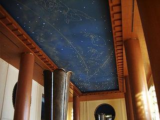 アンバサダーホテル 星空照明