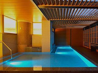 かんぽの宿熱海本館水中照明
