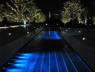 品川シーズンテラス水中照明