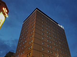 HOTEL α-1 横浜関内 ライン照明