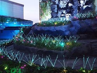 サンシャイン水族館 イルミネーション 照明