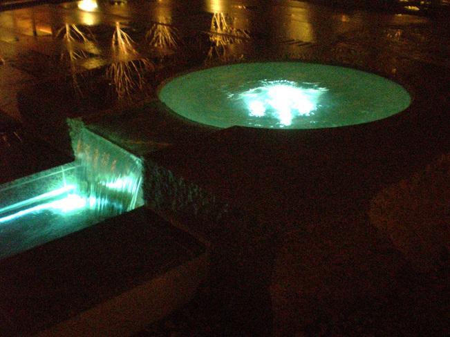 京都エクシブ 御椀型噴水