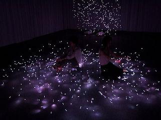 光の部屋 イベント照明