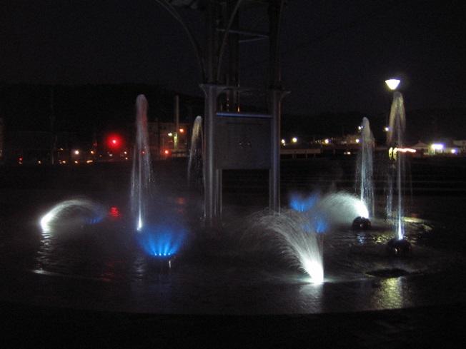 枝川公園 下池噴水