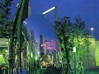 大津駅 星空照明
