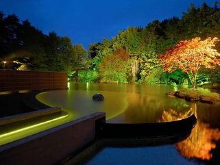 星野リゾート青森屋 水中ライン照明