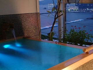 月の栖 熱海聚楽ホテル水中照明