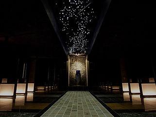 鈴鹿天然温泉 花しょうぶ 星空照明