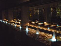 京都エクシブ エントランス噴水