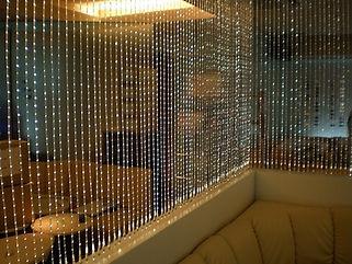 clubRiz ファイバーカーテン照明