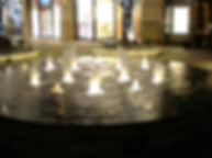 丸の内パークビル噴水 水中照明