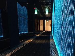 club ☆star  ファイバーカーテン照明
