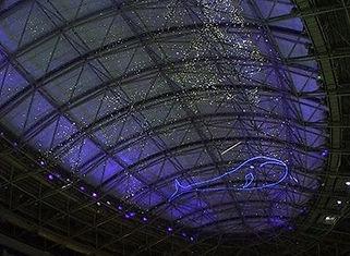 鶴見緑地プール 星空照明