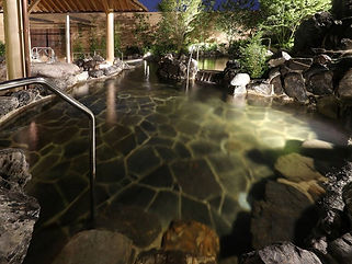 神戸みなと温泉 蓮  水中照明