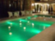 アンジェリーナスィート 水中照明
