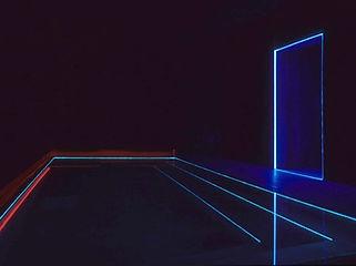 光の館 水中ライン照明