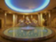スパワールド世界の大温泉 古代ローマ風呂水中照明