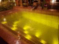 よりみち温泉水中照明
