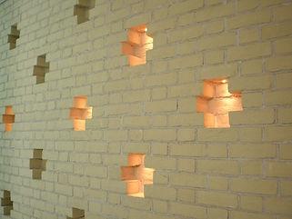 ウォールライト 埋設照明