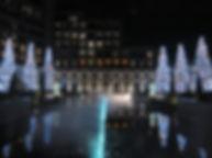 東急ハーベスト京都鷹峰 水風呂 噴水照明 アッパー照明