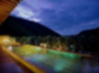 奥湯河原温泉 山翠楼水中照明