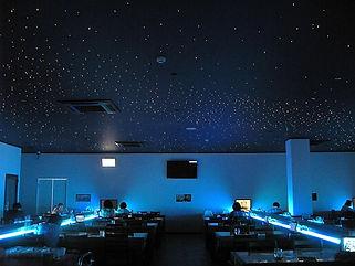 ミニチュアワールドカフェ 星空照明