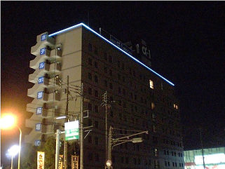 HOTEL α-1 御殿場インター ライン照明