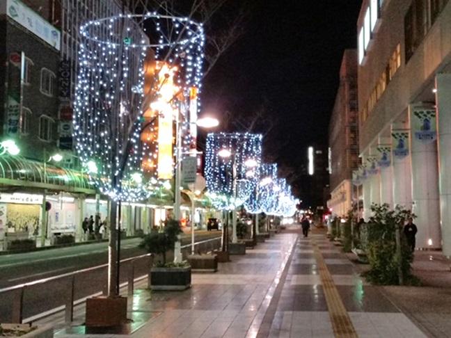コモスクエア けやき通り2014