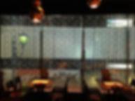 BARU&DINING GOHAN 赤坂見附店 ファイバーカーテン照明