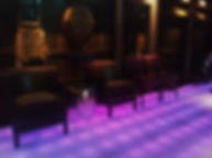 鳥良上野駅前店 埋設 ライン照明