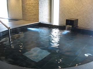 ホテル川久 内湯水中照明