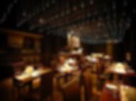 チーズレストランDAIGOMI南青山 ファイバーカーテン照明