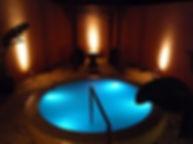 ホテル四季の蔵 ガーデンSPA YUSORA湯空水中照明