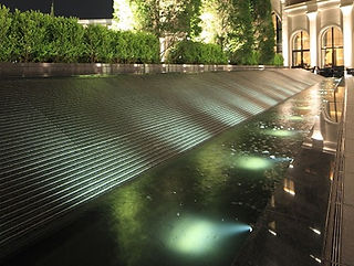 有馬エクシブ離宮 水景水中照明