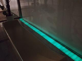 PURE エントランス 埋設 ライン照明