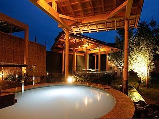 季の座 シルキー風呂水中照明