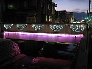 栄橋 イベント照明