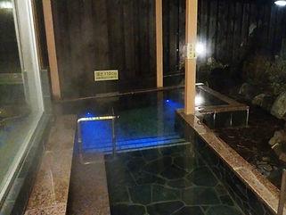 旅館ホテル東横 露天風呂 水中照明