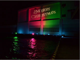 沼津港ライトアップ イベント照明