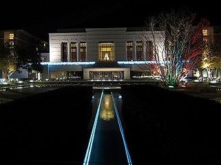 京都エクシブ 中庭 水中ライン照明
