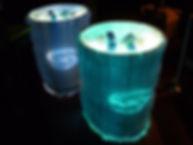 マイルドセブン ロゴBOX イベント照明