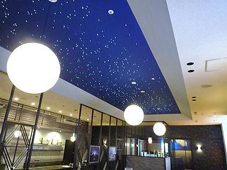 白石屋 星空照明