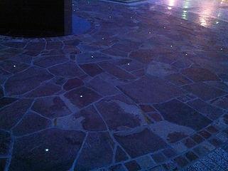 横手公園 星空照明 埋設照明