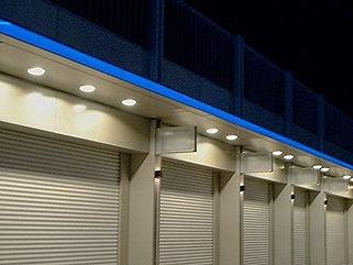 ウェルブ六甲道1番街 間接照明
