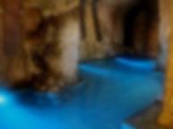 百楽荘 水中照明