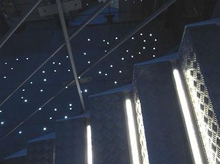チップタワー 星空照明 埋設照明