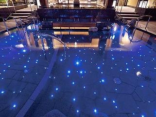 竜泉寺の湯 八王子みなみ野店 ほたる水中照明