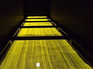 グランジュール通路  ファイバーカーテン照明