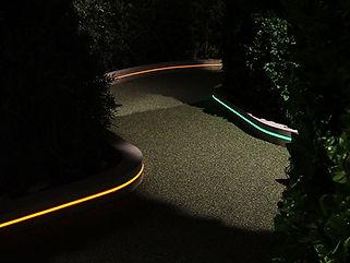 USJ スヌーピースタジオ ライン照明