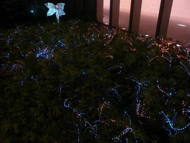ミッドランドスクエア中庭